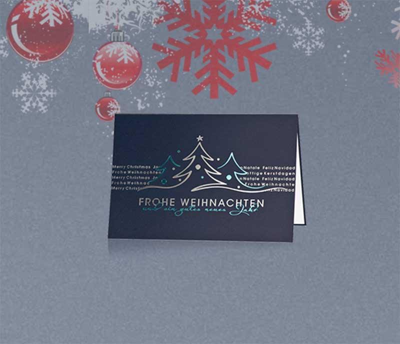Weihnachtskarten Bedrucken.Glock Druck Druckerei In Köln